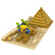 LOZ 330pcs Sphinx model enlighten funny gift series diamond blocks for 14 years old boys