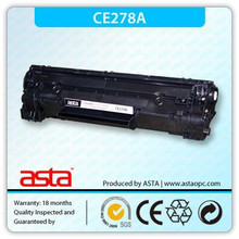 High quality ce278a black ink toner ce278a for HP