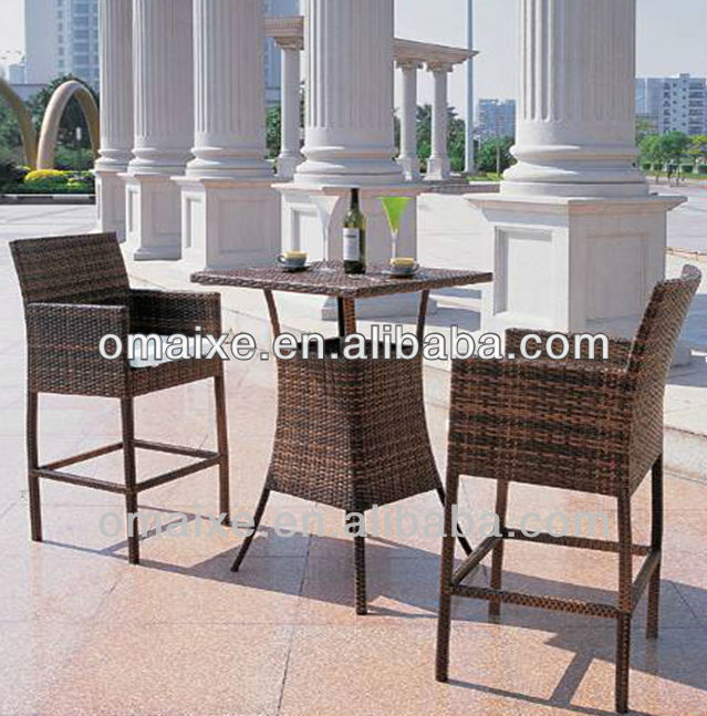 chinese manufacturer outdoor furniture rattan seatings coffee bar