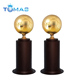 Hot design metal football soccer trophy cup for award
