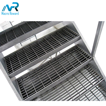 Hot-selling stainless steel gratings floor for stair construction