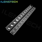 10 degree led linear lens for wall washer 3m wall