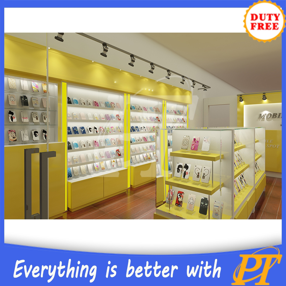 New Phone Shop Interior Decoration For Mobile Accessories Display ...