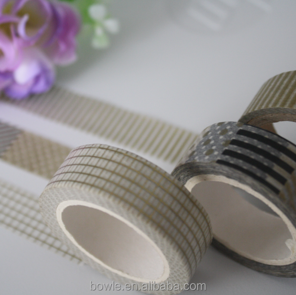New launch customized washi paper tape different styles