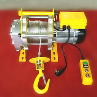 Mini Electric Wire Rope Hoist Used Forestry Winches
