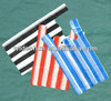 Factory HDPE Candy Striped T-shirt Bag for Shopping