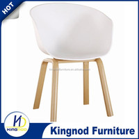 Modern Cheap Metal Base Replica Indoor Ourdoor Plastic Dining Chair