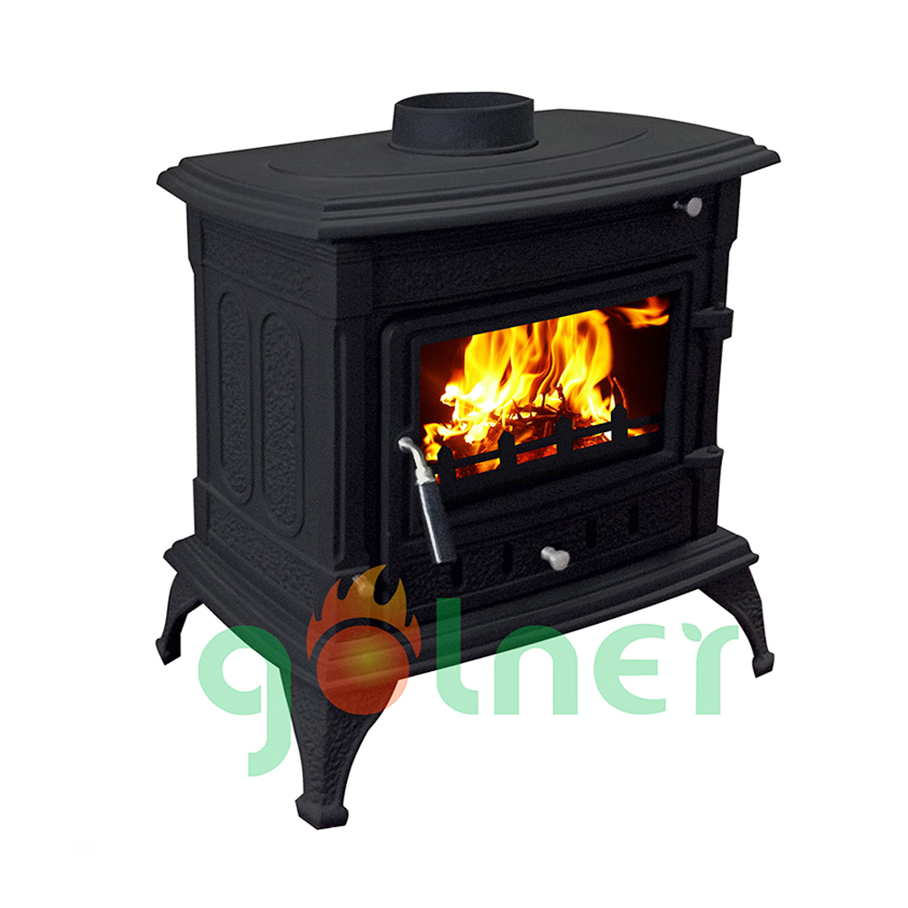 Z-m13 Cast Iron Wood Stove/indoor Wood Fireplace/wood Stove ...
