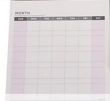 60 листов, дешевые корейские канцелярские товары, креативный бумажный дневник, планер, наклейки, лист для создания списка времени и школьных ...(Китай)
