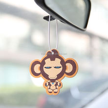Customized One Sets Captain America Cartoon Hanging Ornaments Paper Car Perfume pendant Ornaments Decoration Car Air Freshener