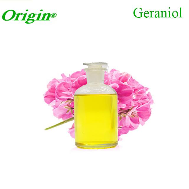 geraniol cas