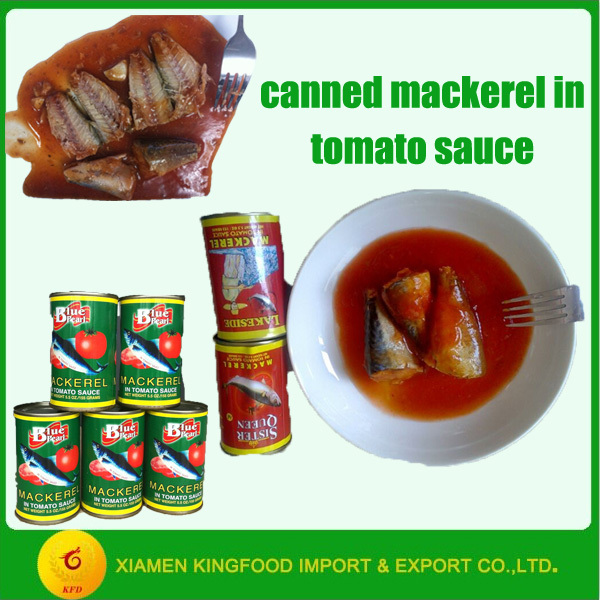 Canned Mackerel 425g in Tomato Sauce