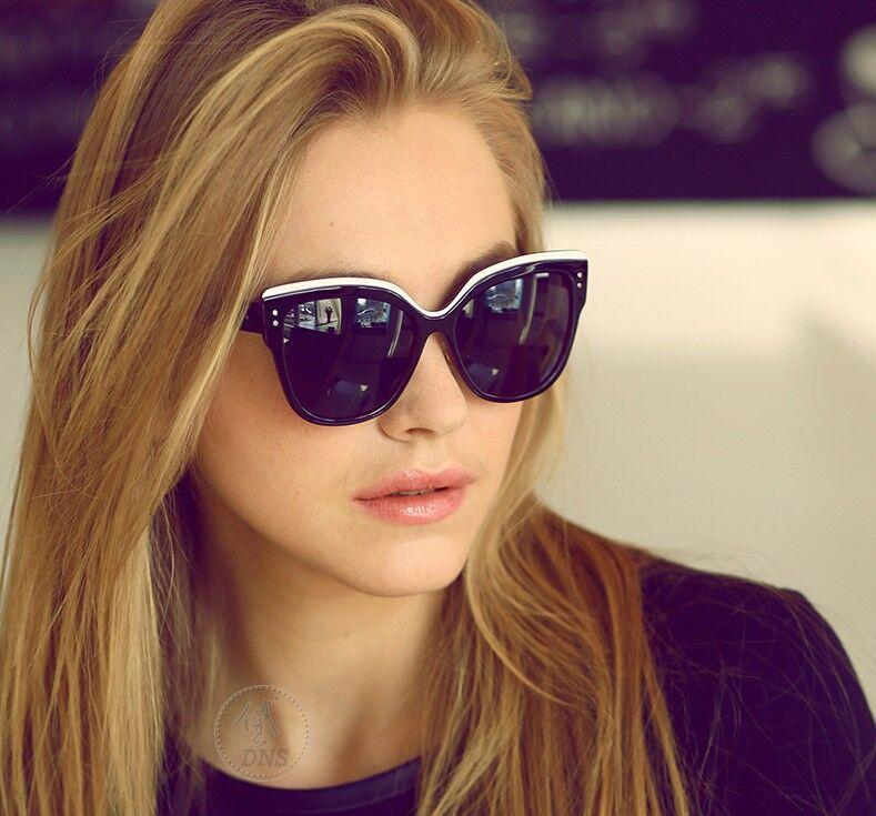 2015 mode chat lunettes belles lunettes de soleil femmes r tro super star lunettes de soleil. Black Bedroom Furniture Sets. Home Design Ideas