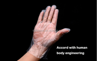Consumable /Medical PE Plastic Hand Gloves
