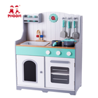 Children kitchen accessories pretend cooking play set toy wooden kids kitchen