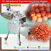 CD-800 tomato dicing machine ;tomato cubes cutting machine;tomato cubes machine