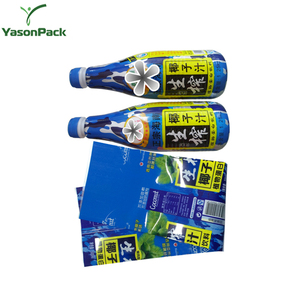 YASON bottle printing water shrink sleeve china manufacturer bottle shrink labels 30u pencils shrink sleeve