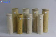 Chemical dust collector filter P84 polyimide non-woven filter bag