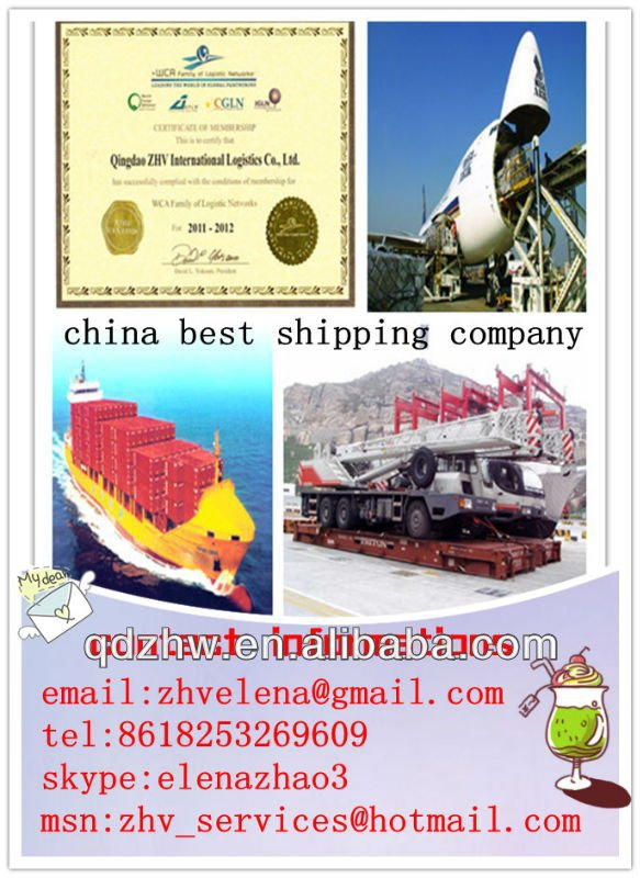 Ocean Shipping /WCA member/Qingdao ZHV International Logistics Co.,Ltd/lowest price/freight container/20/40/45HQ