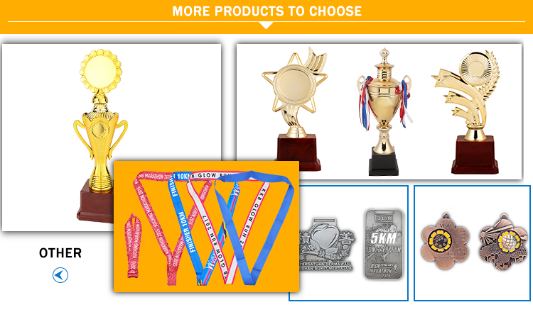 New product good quality professional wholesale metal star trophy