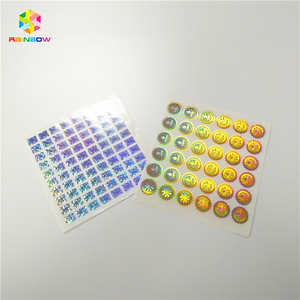Custom Hologram shinning Sticker Sheet A4 Paper Waterproof Vinyl Printed Labels