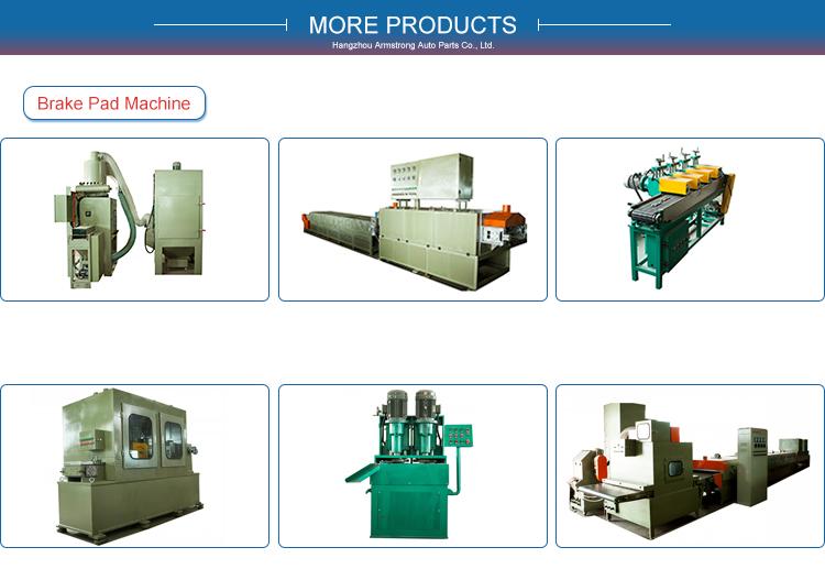 Máy sơn bột cho phanh pad sản xuất