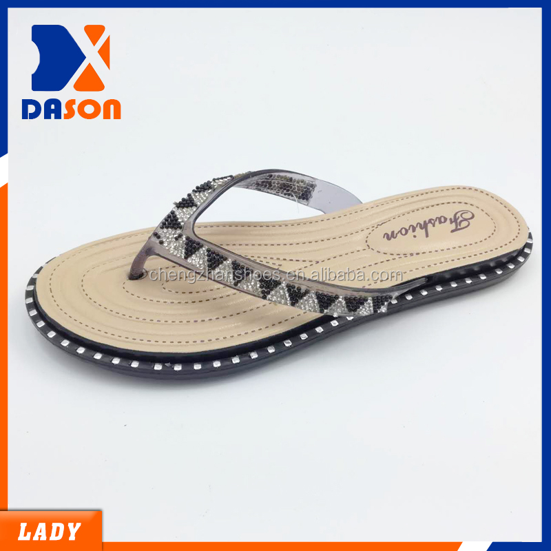 ladies pcu v shape slippers nice design