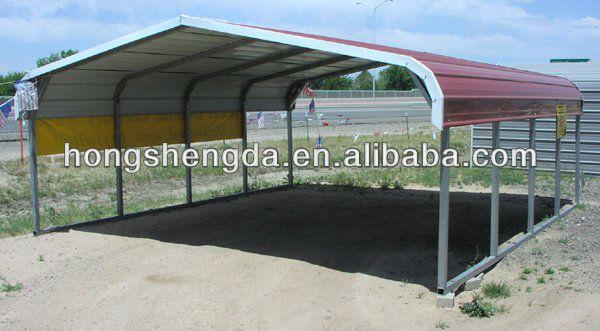 Granja refugio metal cocheras de acero kits garajes - Garajes de metal ...