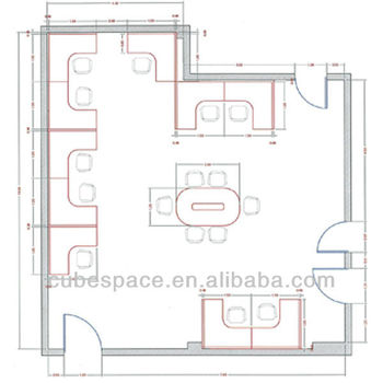 office floor plan office design layout View office design layout