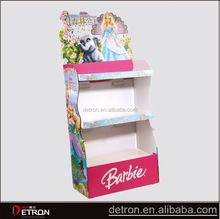 Beautiful Design cardboard shelf paper display