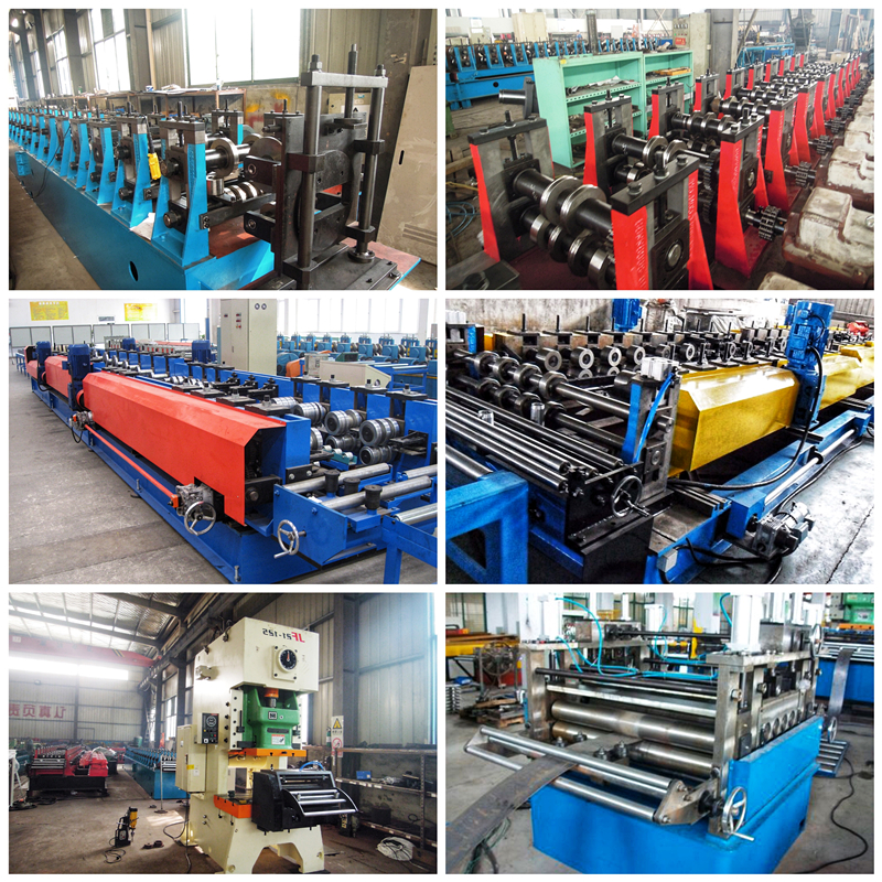 Factory Direct Supply Slotted Galvanized Steel Unistrut C Channel Roll Forming Machine
