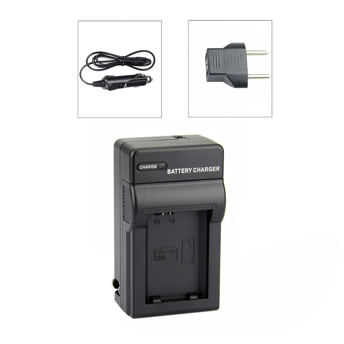 DSTE® NP-FW50 DC107 Travel Charger Kit for Sony ILCE-5100L A5100 A6000 QX1 NEX-C3 F3 3N 5C Digital Camera Battery