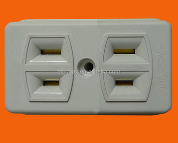 Philippines Standard 2 Gang Flat Outlet Ae6002 Buy Flat Outlet