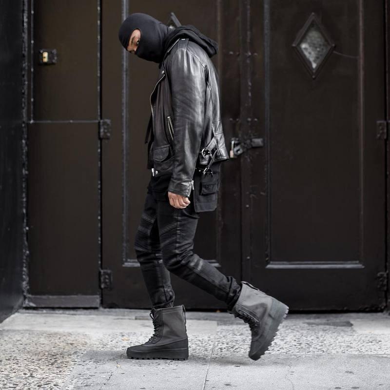 2019 Kpop Boost Fear Of God Urban Clothing Trousers Black