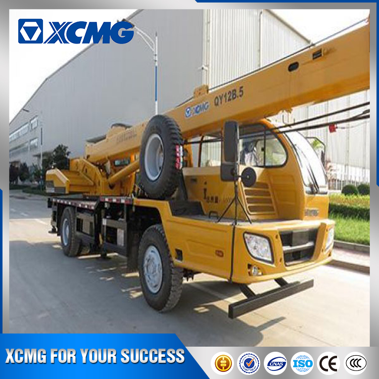 XCMG official price list of 12 ton mobile truck crane QY12B.5 for sale