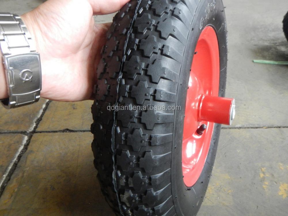 pneu de brouette de roue 480 400 8 pneus en caoutchouc. Black Bedroom Furniture Sets. Home Design Ideas