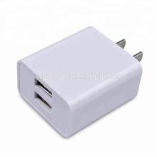 2017 unique Design OEM 2.1A dual usb wall charger,mobile phone accessories