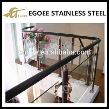 Pvc Stainless Steel Balcony Wood Railing Designs Balcony Glass