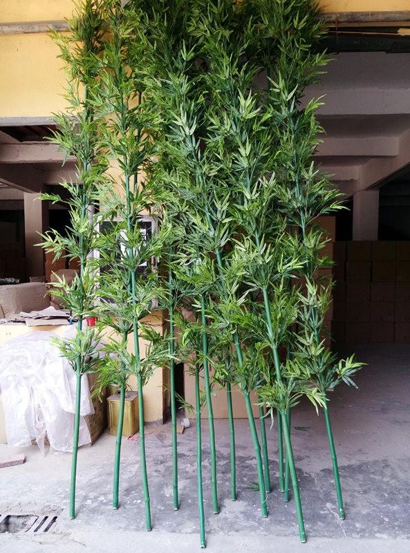 pas cher vert bambou bambou artificiel faux bambou plantes. Black Bedroom Furniture Sets. Home Design Ideas