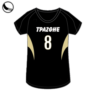 sublimation professional volleyball team jersey