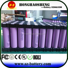 UK/ USA popular can be customize 13s 10p 48v 20ah li-ipn battery 13s8p battery electric bike 48v battery or electric vehicle
