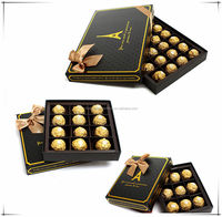2016 new product custom design chocolate wrappers galaxy chocolate box from Alibaba china supplier