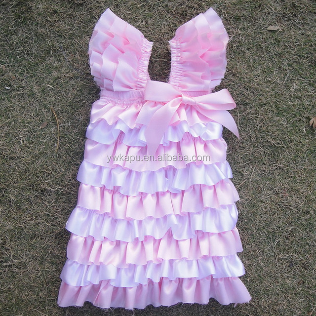 On sale!!! Wholesale baby satin petti dress , baby dress, baby frock design pictures
