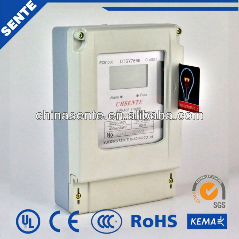 DTSY7666 Type three phase electricity meter cabinet