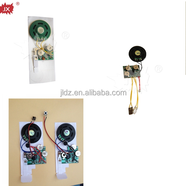 Mini animal recordable sound module for plush toys dolls cards