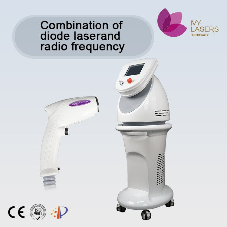 combination cold laser and rf beauty salon equipment for face