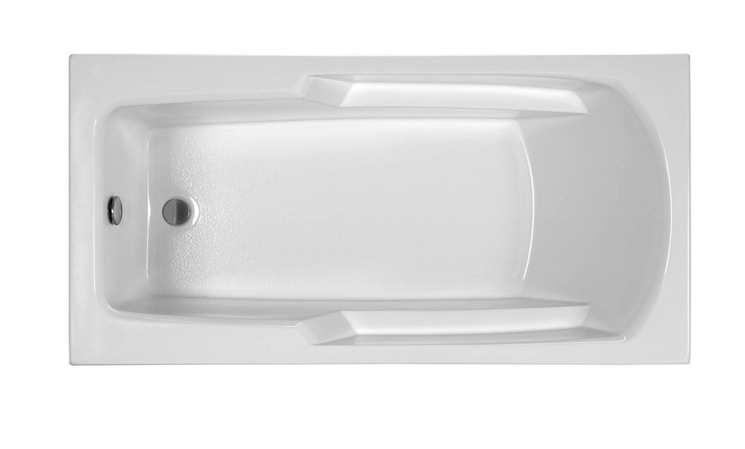 Reliance R6030ERRA-B Rectangular End Drain Air Bath, 60-Inch by 29.75-Inch by 17.375-Inch, Biscuit, Biscuit