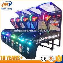 Luxury Amusement Coin Operated Street Basketball Arcade Game Machine Basketball Shooting Machine For sale