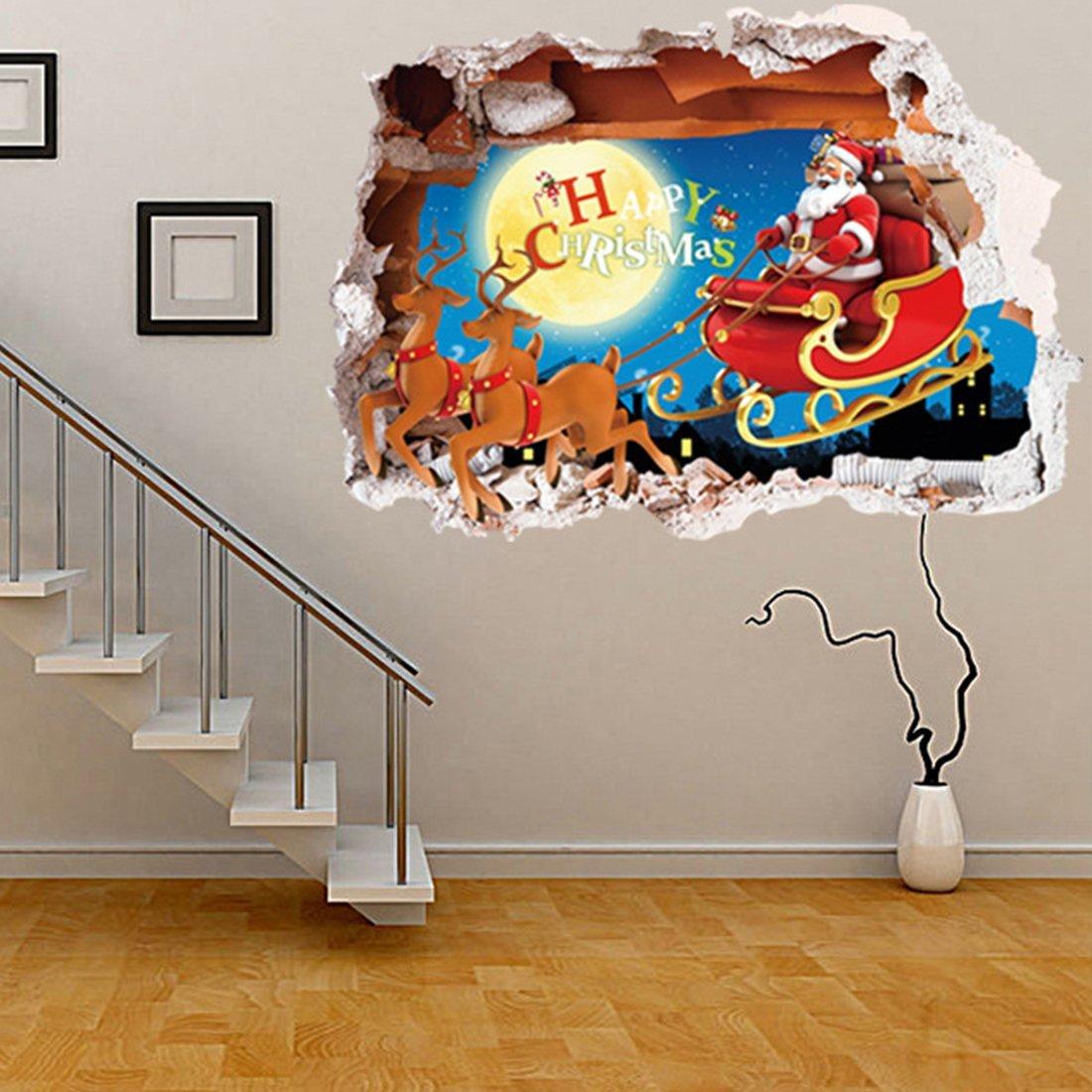ArtWall Kathy Yatess Santa Barbara Pier at Sunset Appeelz Removable Graphic Wall Art 14 by 18