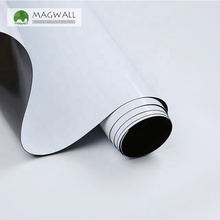 Magwall Adhesive backing white board film wholesale big size magnetic Flexible and Soft Magnetic Dry Erase office supplies